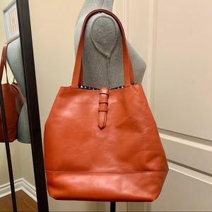 Lucky Brand orange shoulder bag